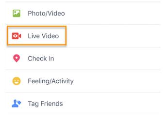 Cara Melakukan Siaran Langsung di Facebook Lewat Handphone