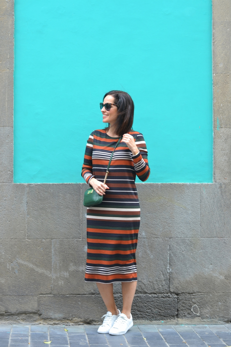 stripes-dress-mango-outfit-casual-style