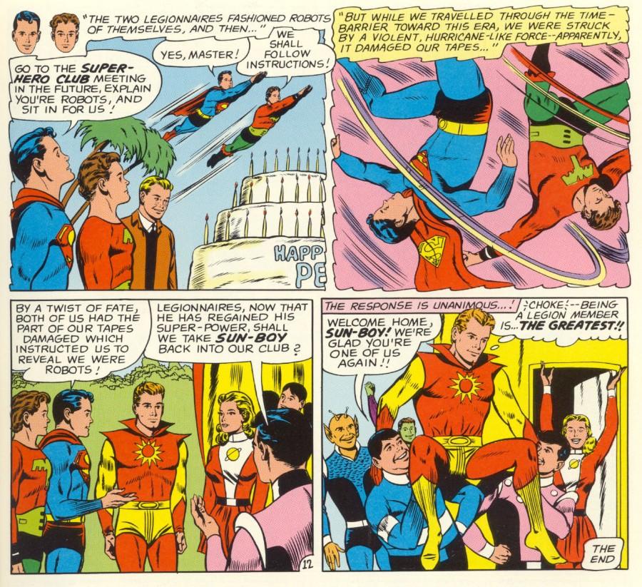 Read online Adventure Comics (1938) comic -  Issue #498 - 69