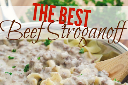 Homemade Beef Stroganoff