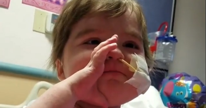 After Two Bone Marrow Transplants, This Amazing Baby Singing Made Us Smile