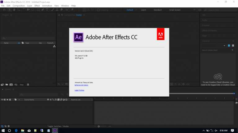 Adobe After Effects CC 2019 v16.0.1.48 Full Free Download
