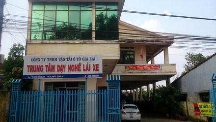 Gia Lai: Nhiều sai phạm tại một trung tâm sát hạch lái xe