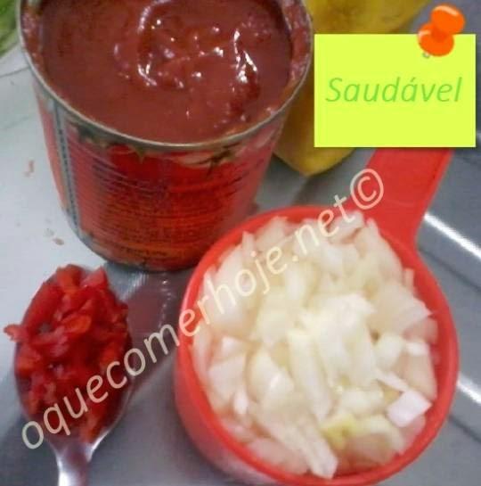 receita de ketchup caseiro saudável