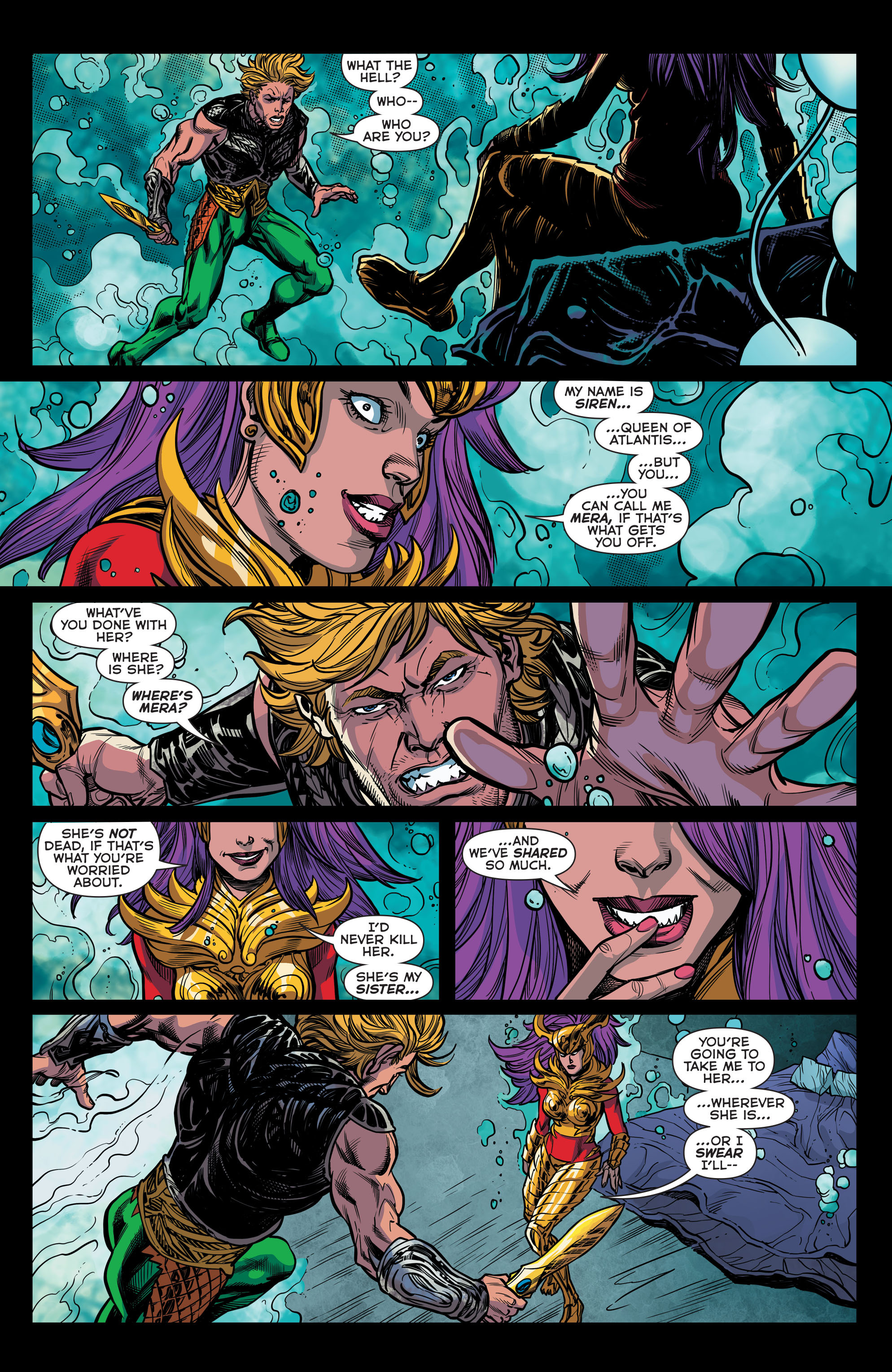 Read online Aquaman (2011) comic -  Issue #44 - 17
