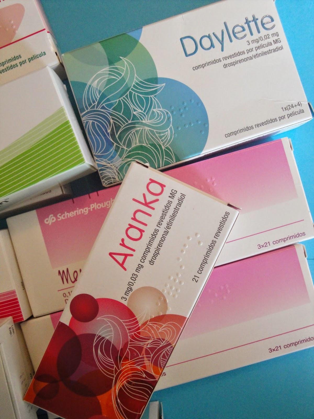 Pilulas anticoncecionais
