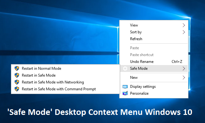 how to go into safe mode windows 10