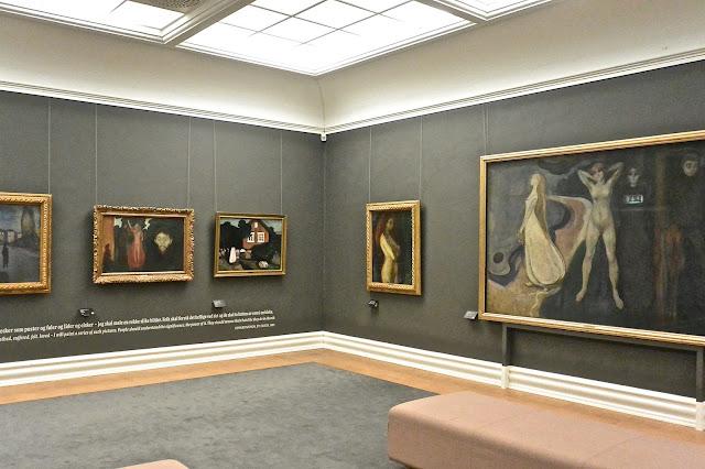 Salle Edvard Munch : Kunstmuseet de Bergen Kode 3