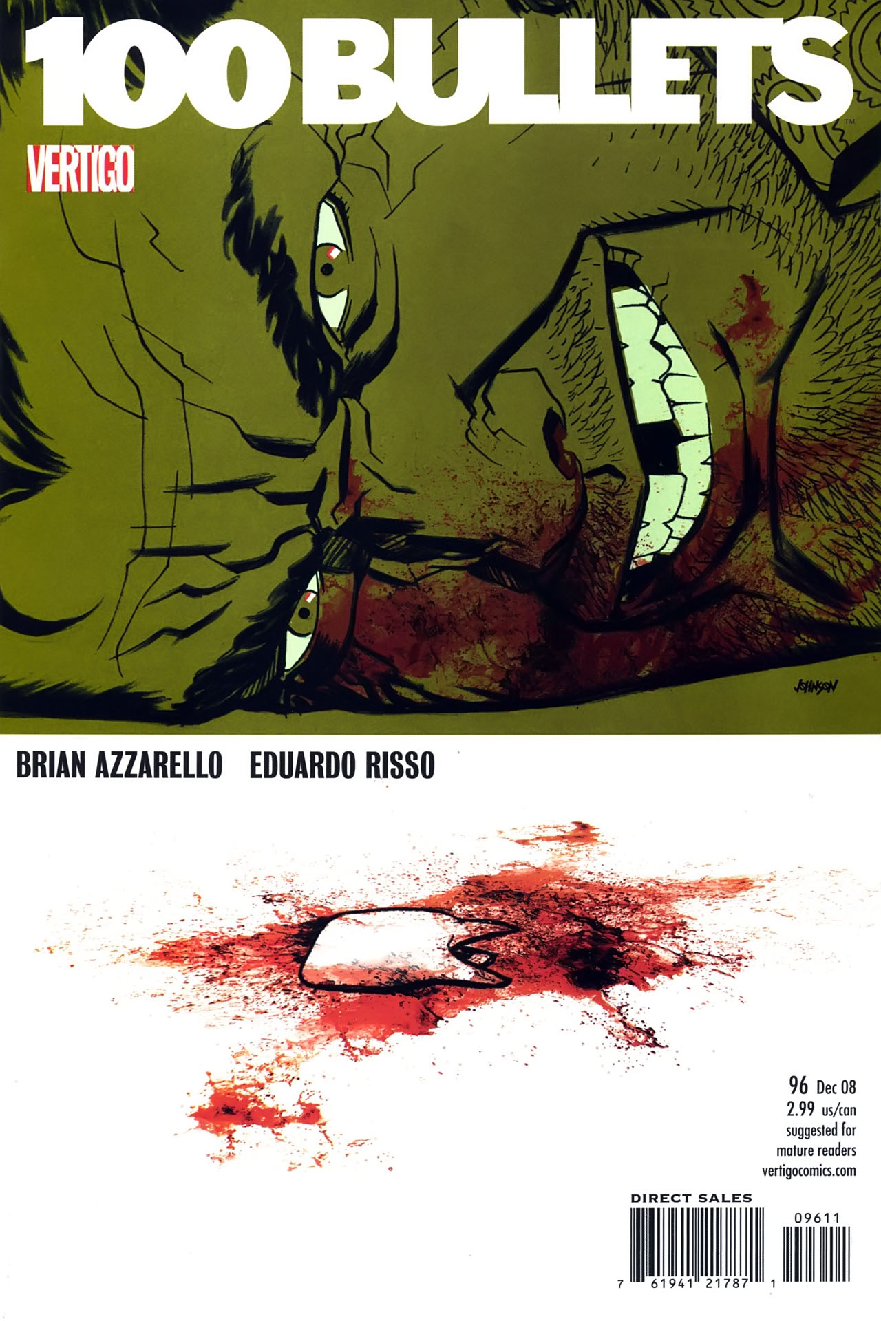 Read online 100 Bullets comic -  Issue #96 - 1