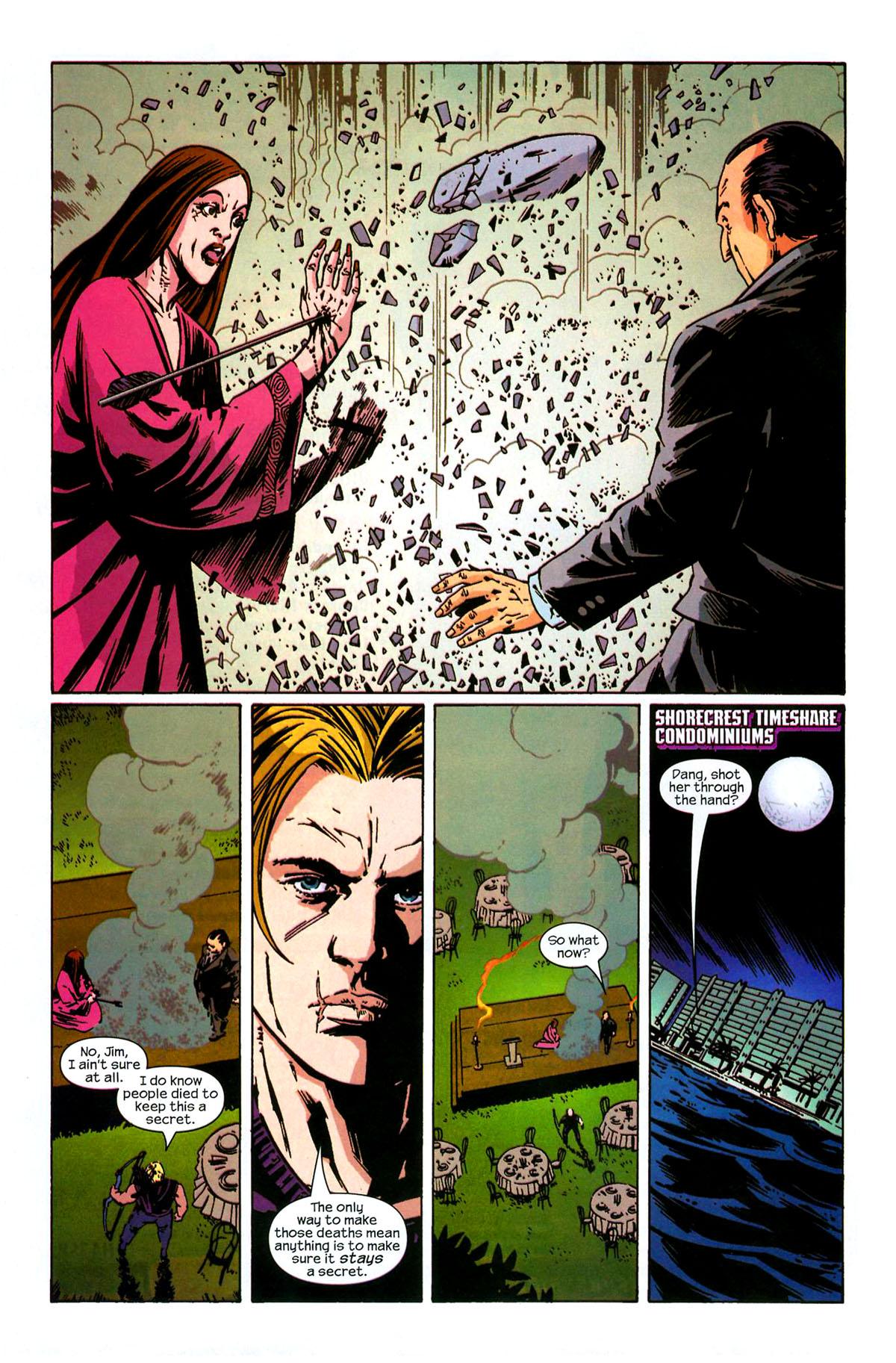 Hawkeye (2003) Issue #6 #6 - English 22