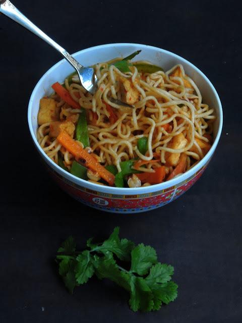 Tofu chowmein,Chowmein