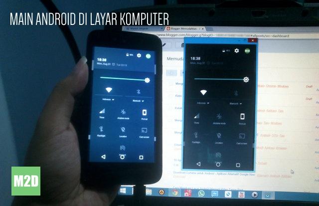 Mengendalikan Android dari Layar PC dengan Vysor