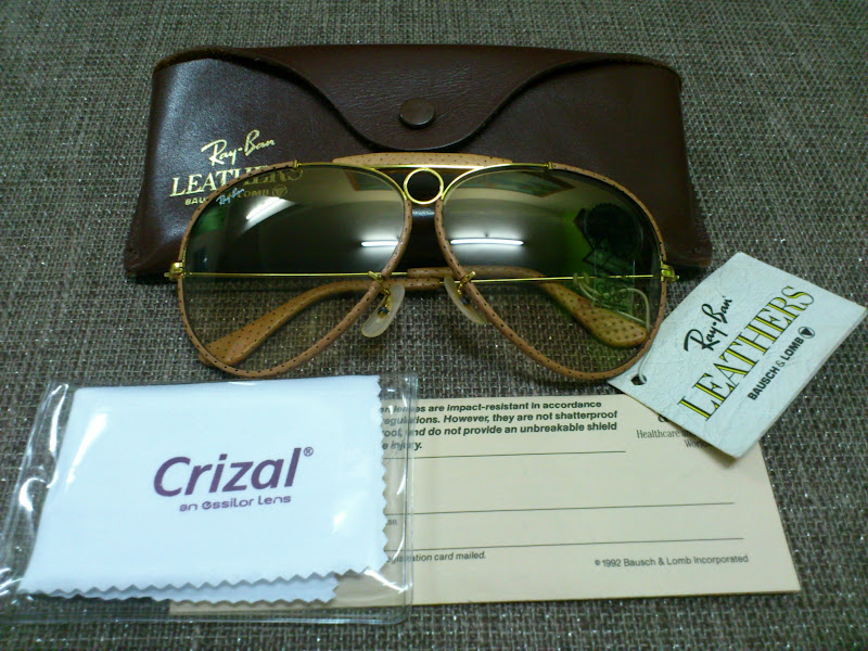 5fb892bbd4 Ray Ban Shooter Leathers 62mm « Heritage Malta