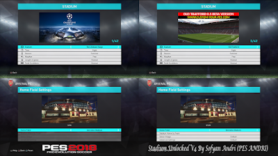 PES 2018 Stadium Unlocked v4 By Sofyan Andri