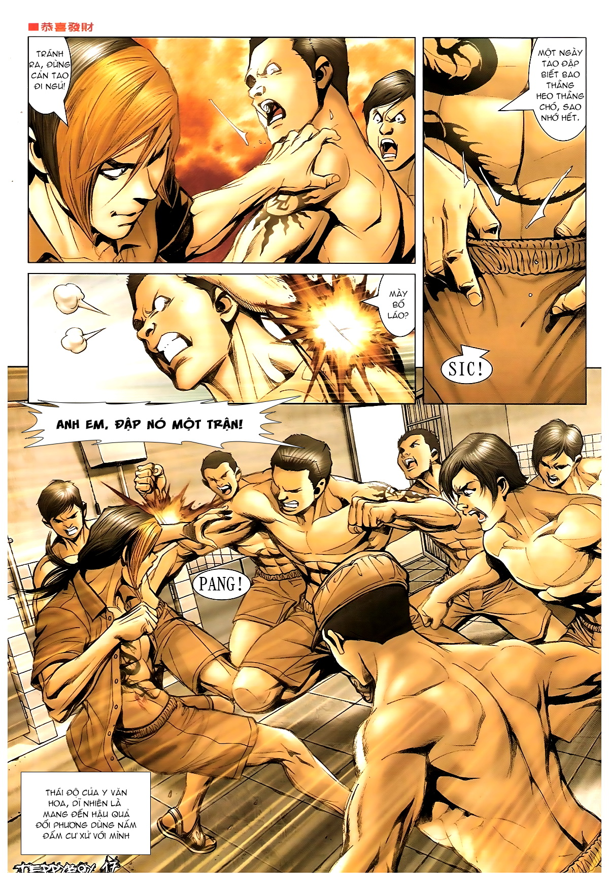 Người Trong Giang Hồ - Chapter 1370: Hào Khí 1 - Pic 15