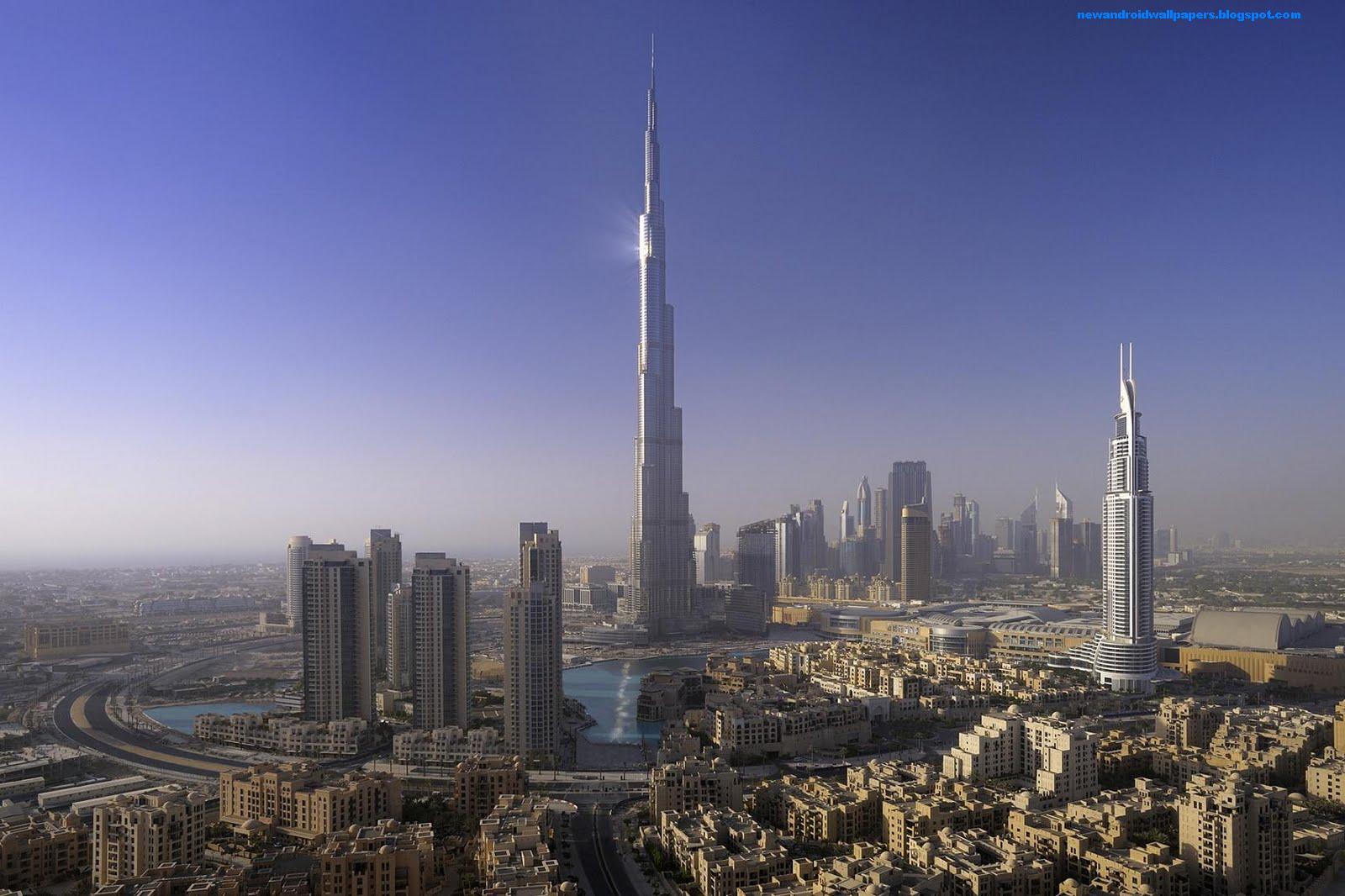 Burj Khalifa Hd Photos: Burj Al Khalifa Wallpapers Hd Free Download For Android