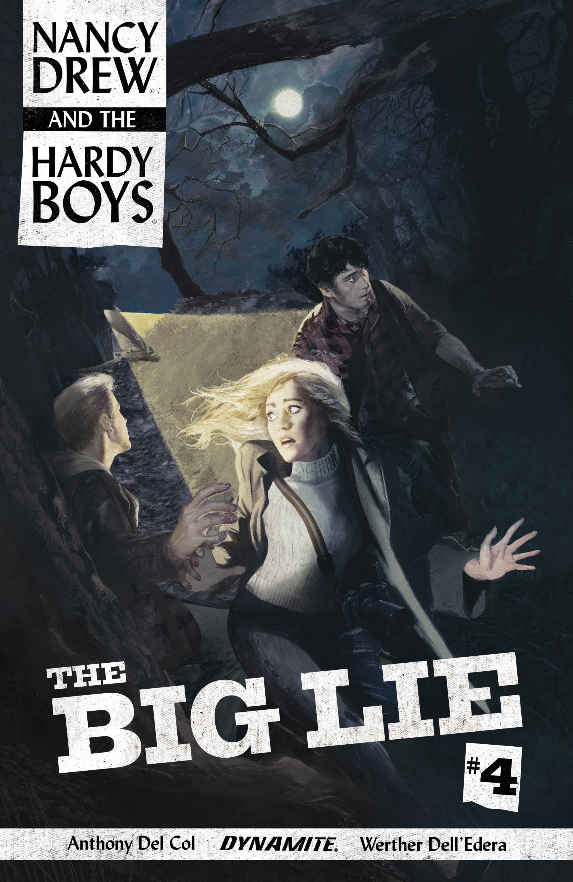 Read online Nancy Drew And The Hardy Boys: The Big Lie comic -  Issue #4 - 1