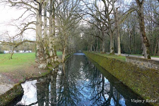 Canal del Castillo de Chenonceau