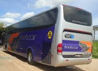 Em Paraipaba-CE: Bandidos assaltam passageiros de ônibus na CE 085