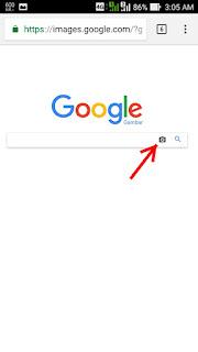 Mencari berdasarkan Gambar di Google Android