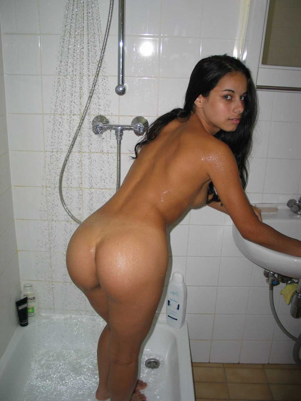 chubby latinas naked shower
