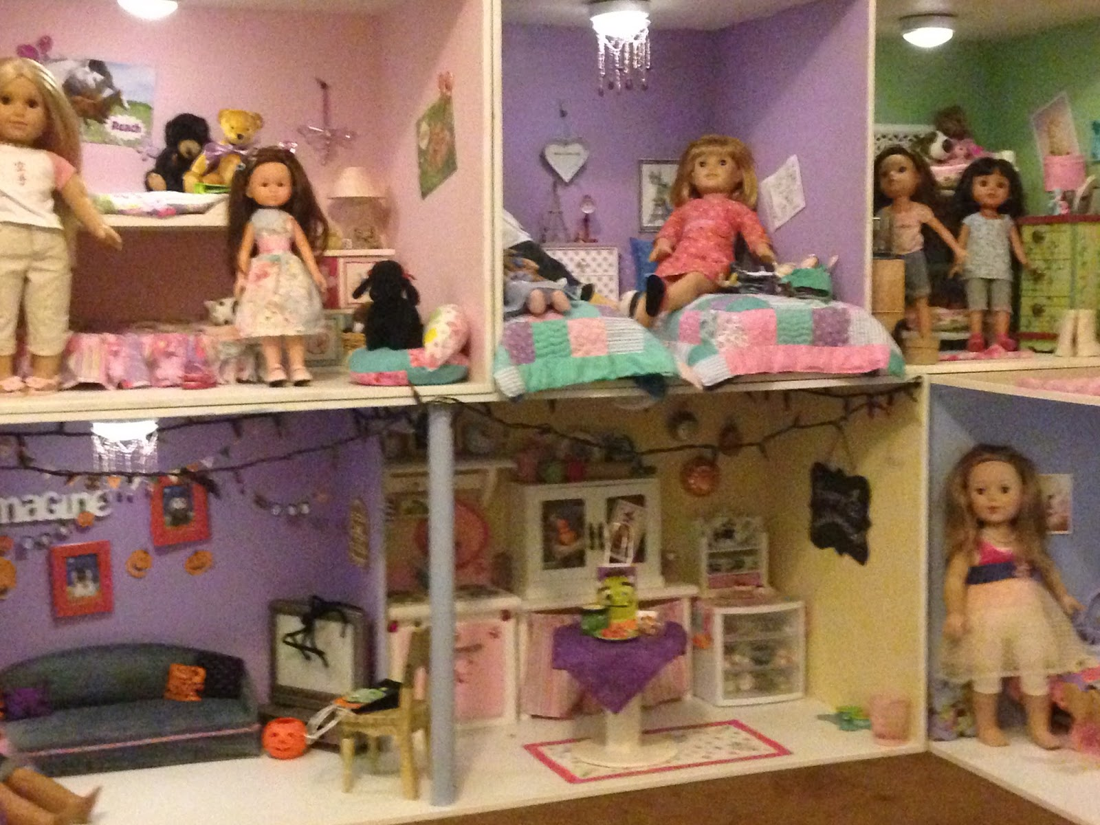 dolls house used in meet