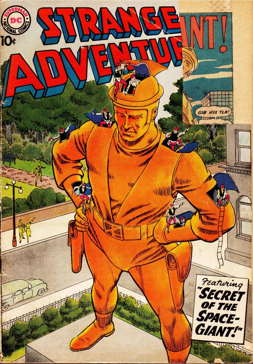 Strange Adventures (1950) issue 97 - Page 1