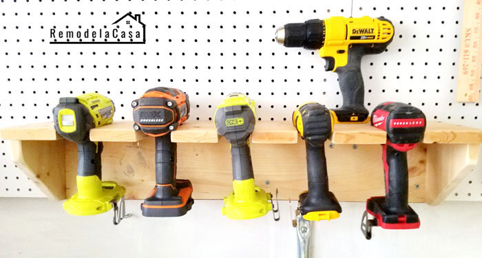 Dewalt, Ryobi, Milwaukee and Ridgid drills, impact drivers