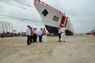 Bakamla RI Luncurkan Kapal Baru