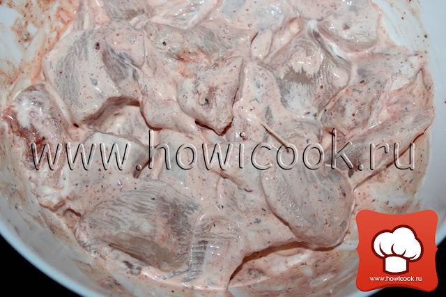 рецепт вкусных шашлычков в духовке пошаговые фото