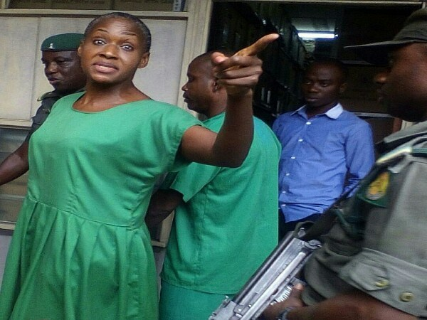 Image result for Kemi Olunloyo IN PRISON