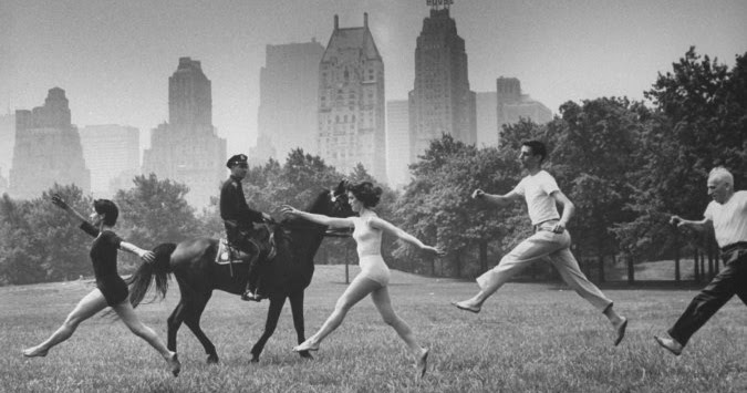 Vintage Photos Show the Life in Central Park in Summer 1961
