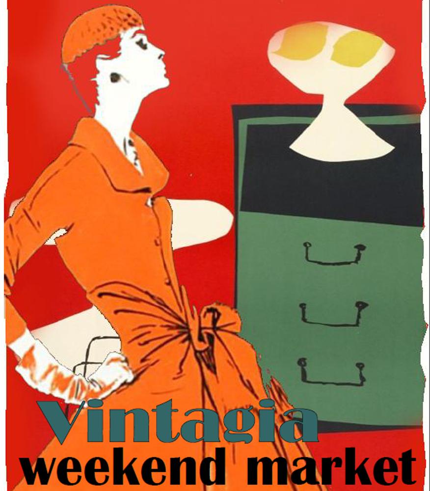 Vintagia: Un mercadillo vintage