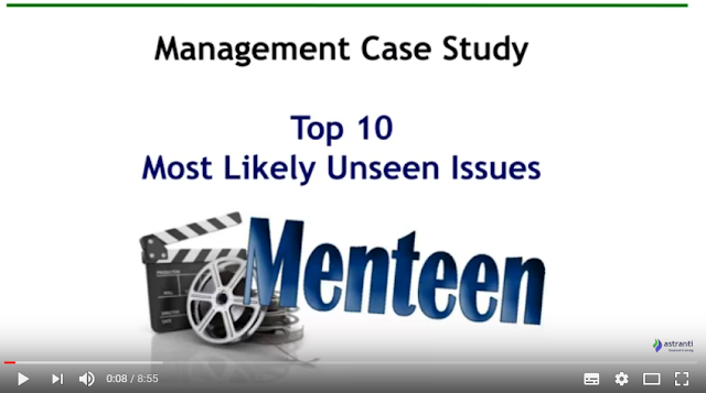 Top 10 Issues for MCS February 2017 - CIMA Management Case Study - Menteen