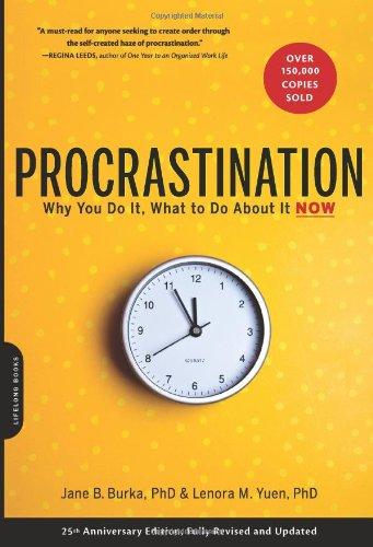 Procrastination jane burka