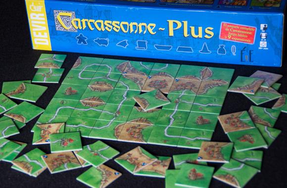 Carcassonne en Éxito y Error