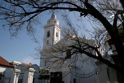 Bairro Recoleta; Argentina; Buenos Aires; Basílica Nossa Senhora do Pilar;
