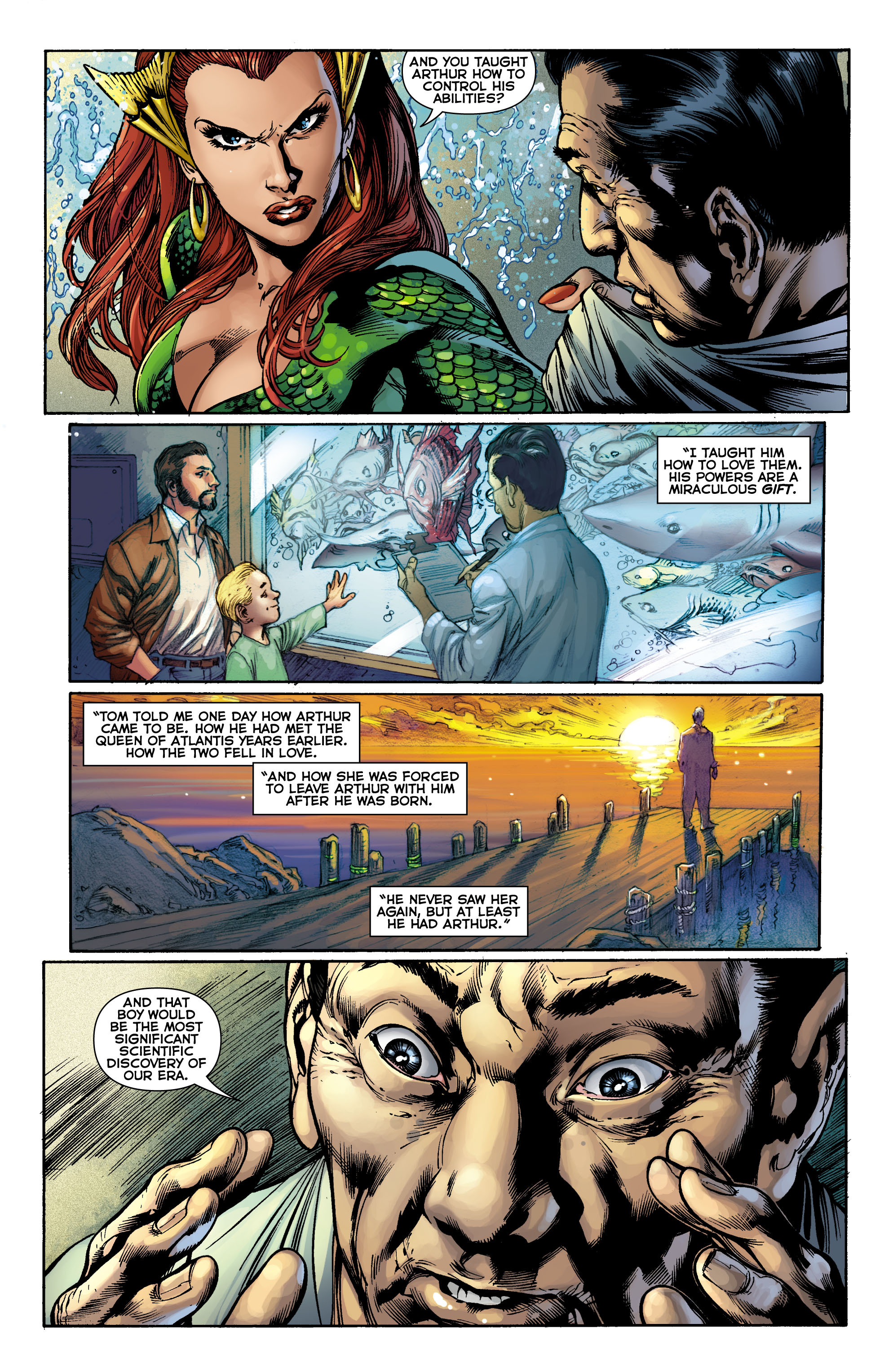 Read online Aquaman (2011) comic -  Issue #9 - 17