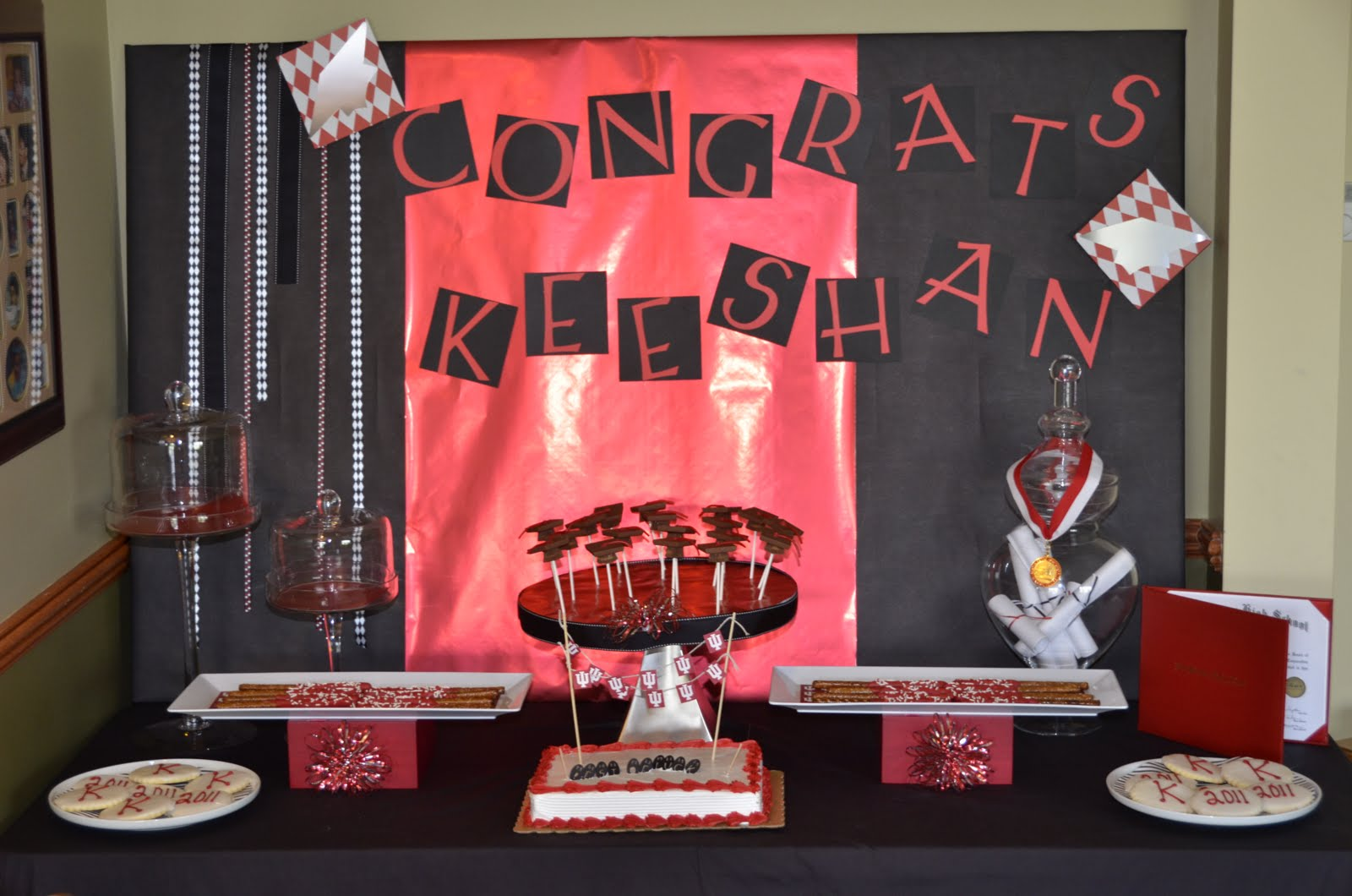 Graduation Party Ideas Black And Red Graduation Party Ideas