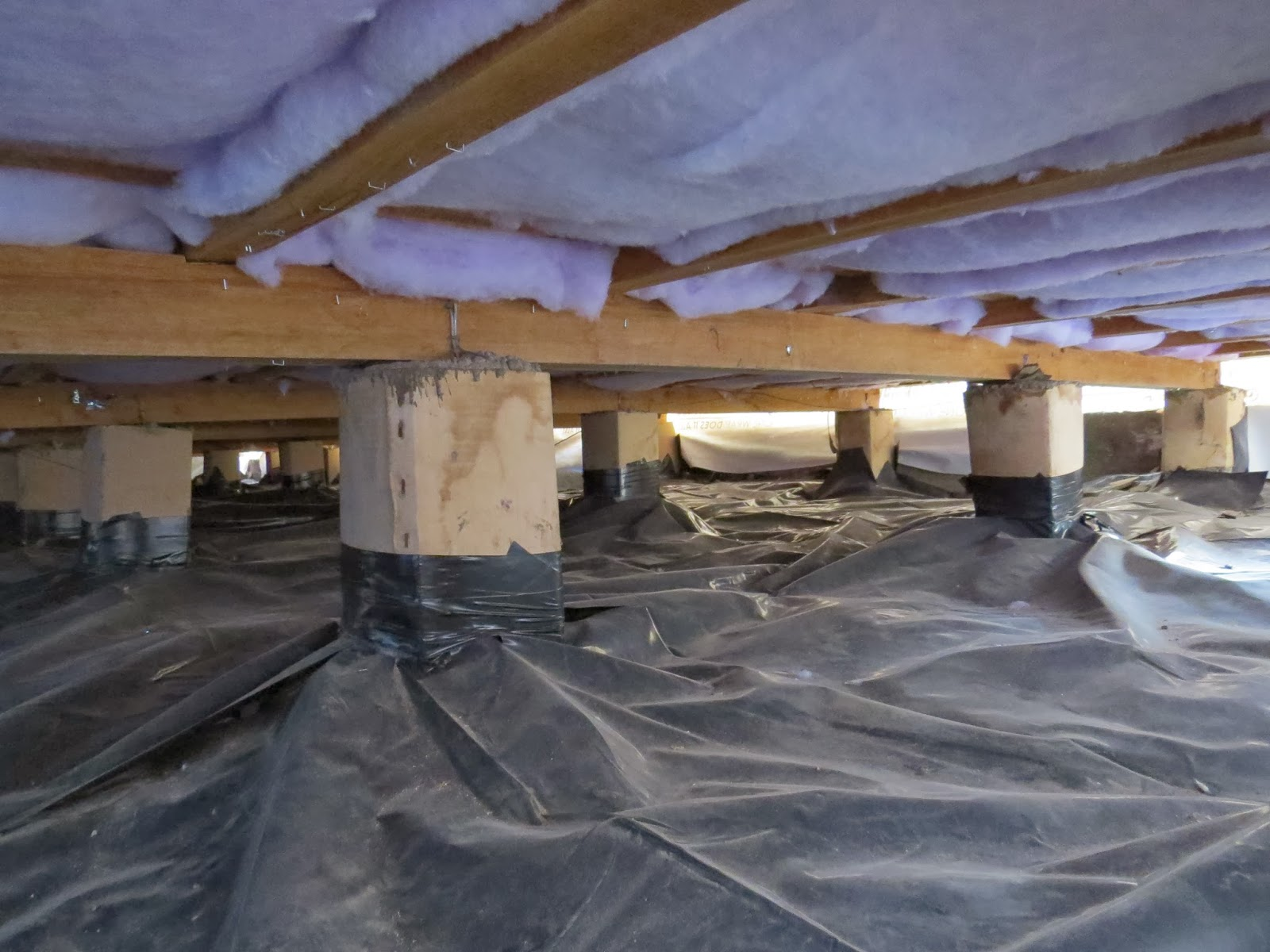 Ground Sheet Bunnings Vapour Barrier Or Underfloor Insulation The Beacon Blog