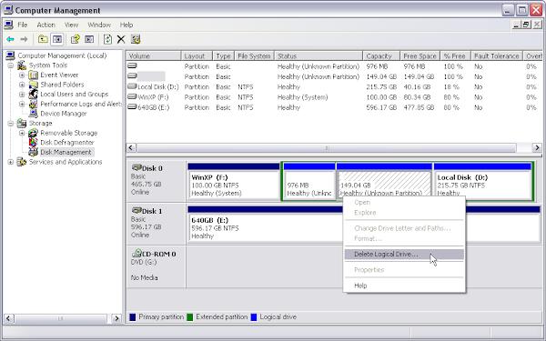 изтриване на Ubuntu 14.04.4-i386