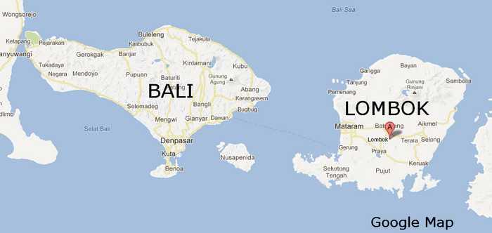 Image result for pulau bali dan lombok