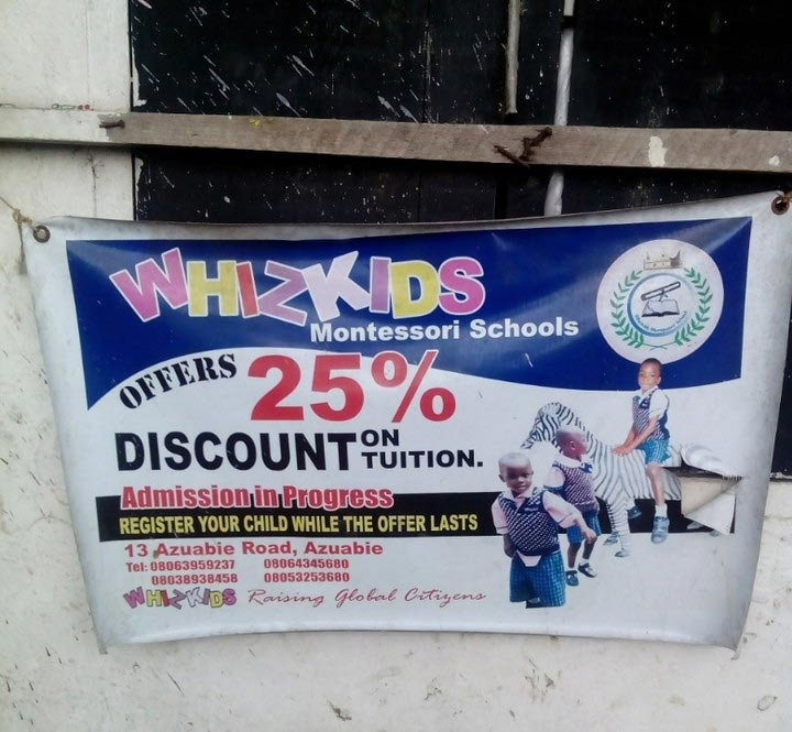 So Wizkid has a school in Port Harcourt now?