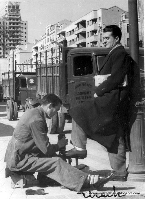 Historias matritenses Tipos tipillos y tipejos de Madrid