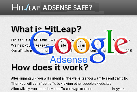 is Hitleap adsense safe