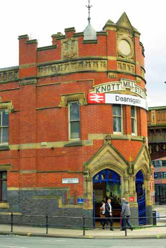 Deansgate Station Manchester, UK.