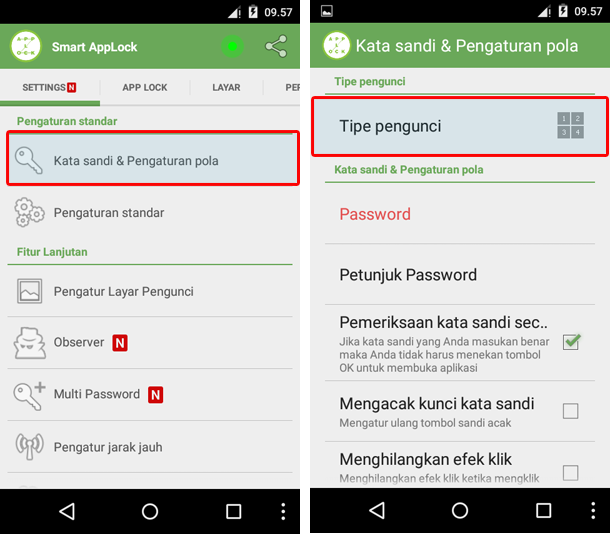 aplikasi password android