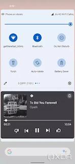 Kontrol Media Android 12