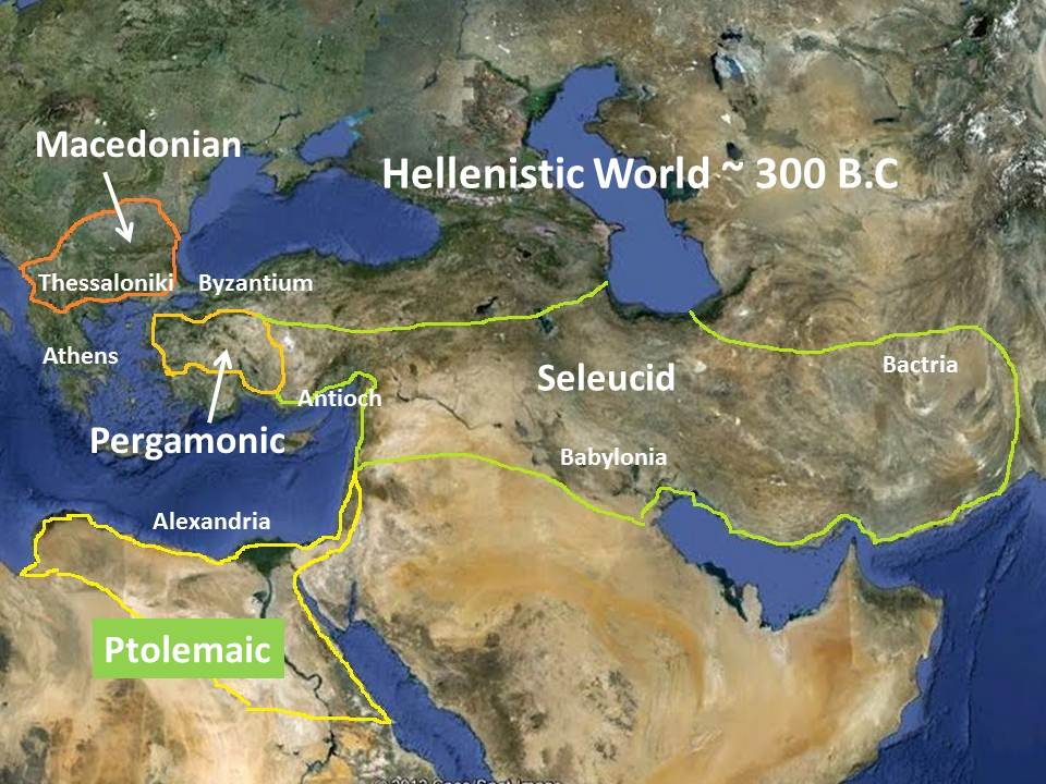 Hellenistic Greece Map.Mike Anderson S Ancient History Blog Hellenism And Christianity
