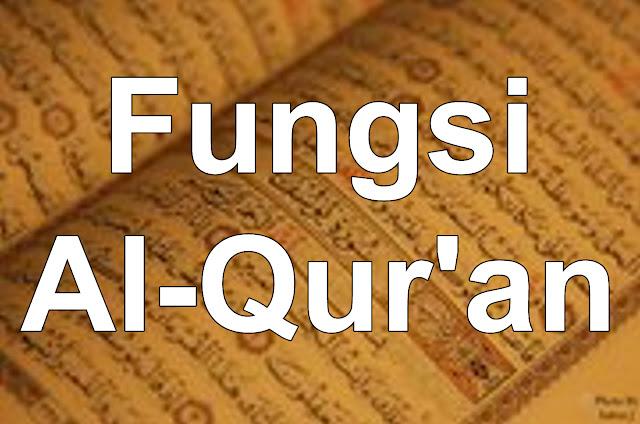 Fungsi HEBAT Al Quran yang Menyeluruh Dalam Segala Aspek Kehidupan